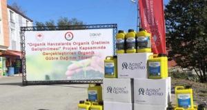 Çarşamba'da Çiftçilere Organik Gübre Dağıtımı Gerçekleştirildi