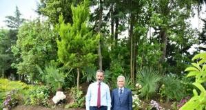 Kendi Emeği İle Yaptığı Botanik Parkı'nı Halkımıza Armağan Etti