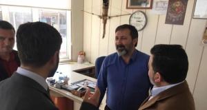 Saadet Partisi Adayı Harman Seçim Çalışmalarını Sürdürüyor