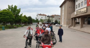 Bafra'da Bisiklet Turu
