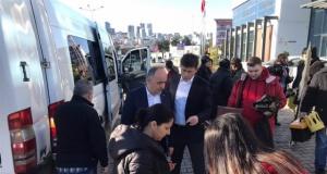 Atakum Gençlik Merkezi Tiyatro Ekibi, Depremzede Çocuklar İçin Yola Çıktı