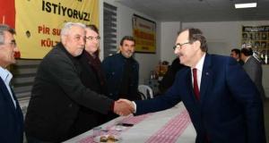 Başkan Zihni Şahin'e Atakum'da Sevgi Seli