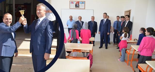 19 Mayıs İlçesinde İlk Ders Zili Çaldı
