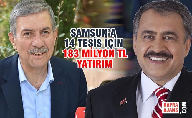 2 Bakan; 43 Milyon TL'lık 19 Müjde İle Samsun'a Geliyor