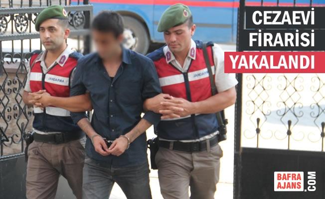 Bafra'da Cezaevinden Kaçan Tutuklu Yakalandı