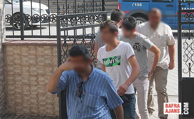 Bafra'da Hırsızlık; 2 Şüpheli Adliyeye Sevk Edildi