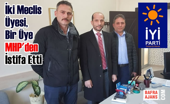 İki Meclis Üyesi, Bir Üye MHP İstifa Etti