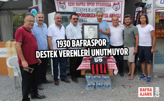 1930 Bafraspor Destek Verenleri Unutmuyor