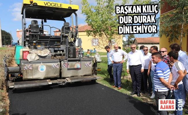 """Başkan Kılıç: """"Hizmetin Bahanesi Olmaz"""""""