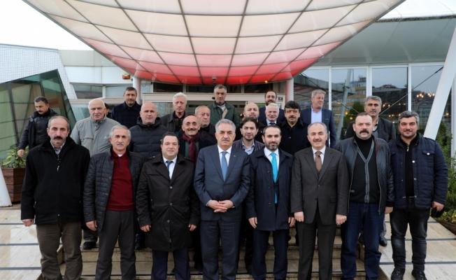AK Parti Genel Başkan Yardımcısı Hayati Yazıcı, Rize'de