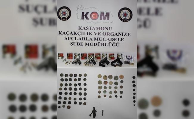 Kastamonu'da tarihi eser kaçakçılığı operasyonu