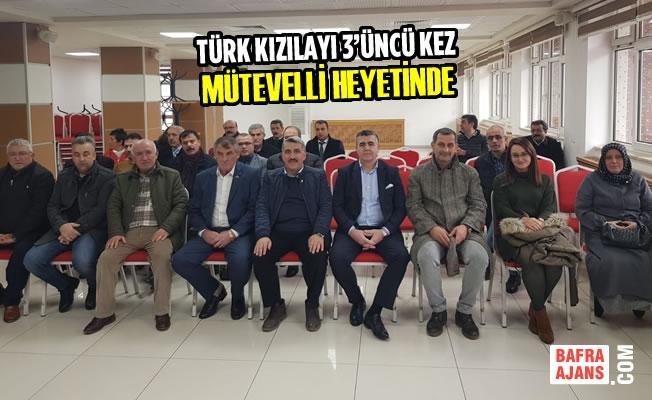 Türk Kızılayı 3'üncü Kez Mütevelli Heyetinde