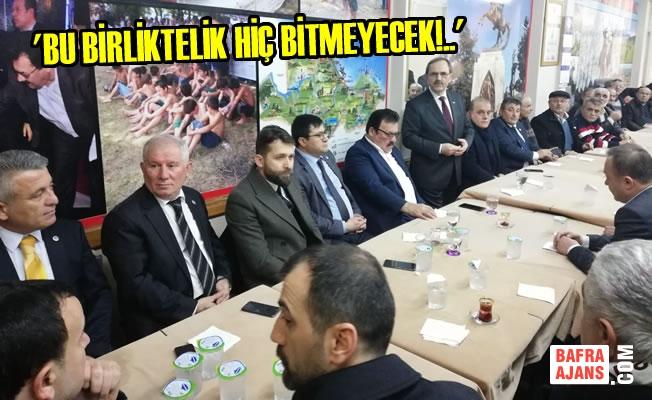 Başkan Zihni Şahin'e İstanbul'da Sevgi Seli