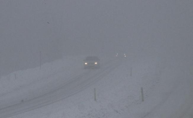 Zonguldak'ta kar yağışı ve sis