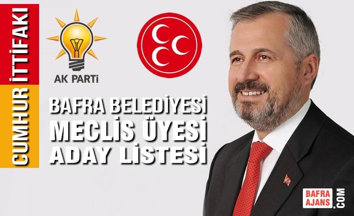 AK Parti Belediyesi Meclis Üyesi Aday Listesi