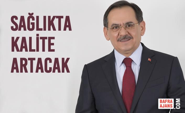 Mustafa Demir, Hastane Personeli İle Buluştu