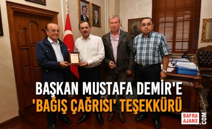Polis Emeklileri ve Şehit Aileleri'nden Başkan Mustafa Demir'e 'BAĞIŞ ÇAĞRISI' TEŞEKKÜRÜ