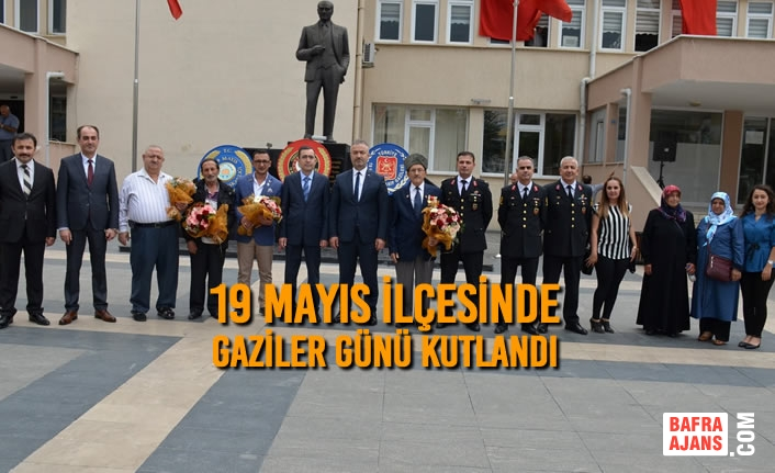 19 Mayıs İlçesinde Gaziler Günü Kutlandı
