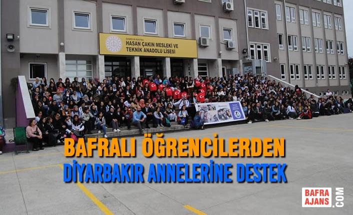 Bafralı Öğrencilerden Diyarbakır Annelerine Destek