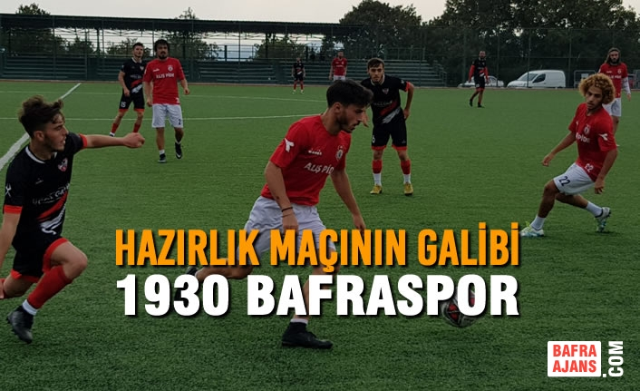 Hazırlık Maçının Galibi 1930 Bafraspor