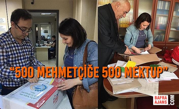 "Bafra'dan ""500 Mehmetçiğe 500 Mektup"""