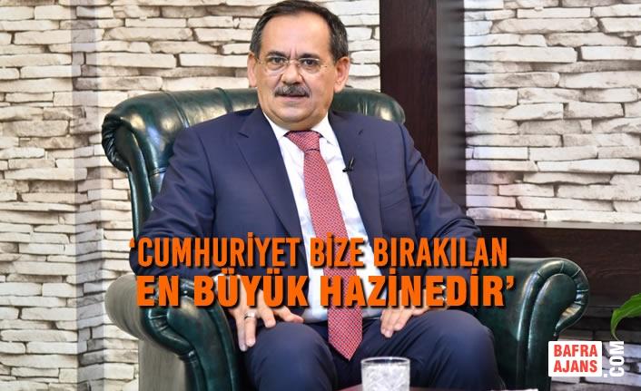 Başkan Mustafa Demir'den 29 Ekim Cumhuriyet Bayramı Mesajı