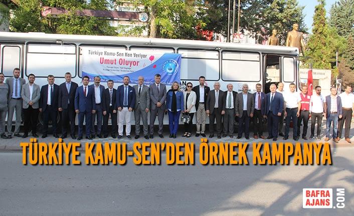 Türkiye Kamu-Sen'den Örnek Kampanya