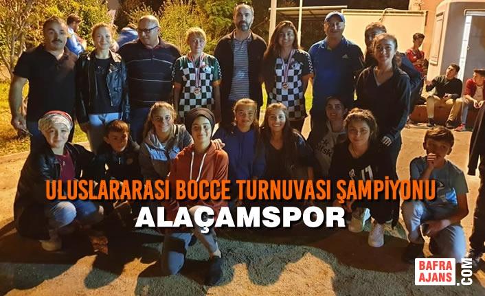 Uluslararası Bocce Turnuvası Şampiyonu Alaçamspor