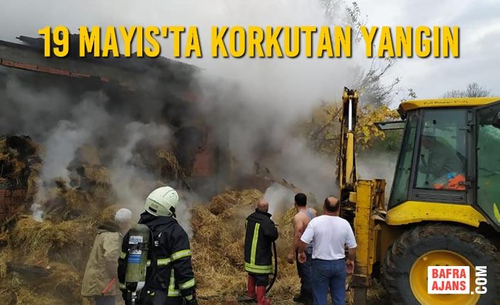 19 Mayıs'ta Korkutan Yangın