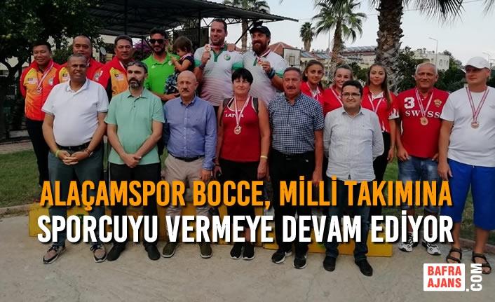 Alaçamspor Bocce, Milli Takımına Sporcuyu Vermeye Devam Ediyor