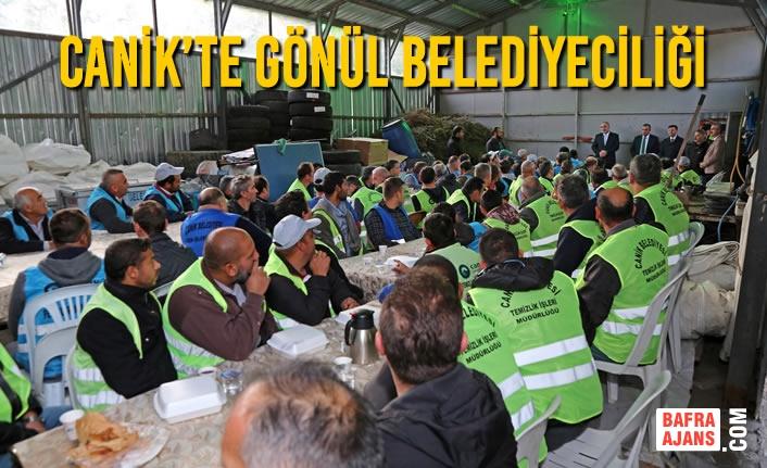 Canik'te Gönül Belediyeciliği