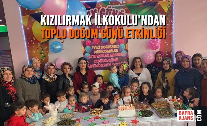 Kızılırmak İlkokulu'ndan Neşeli Park'ta Toplu Doğum Günü Etkinliği