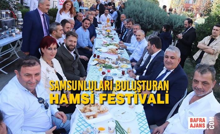 Samsunluları Buluşturan Hamsi Festivali!