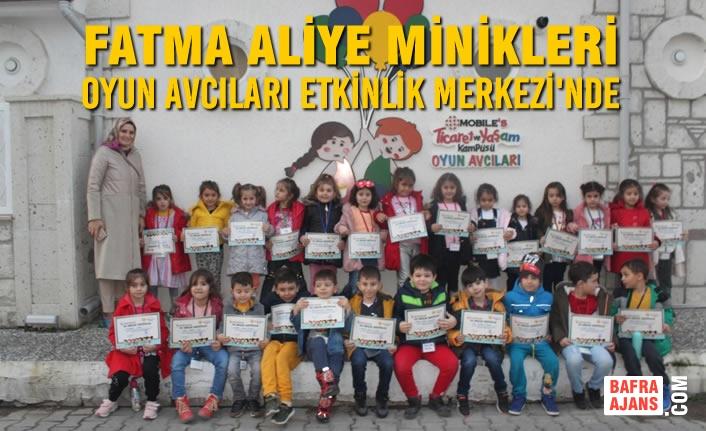 Fatma Aliye Minikleri Oyun Avcıları Etkinlik Merkezi'nde