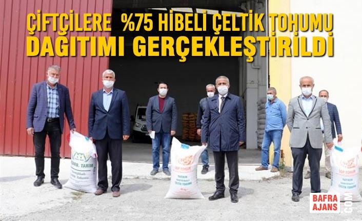 %75 Hibeli Çeltik Tohumu Dağıtımı Yapıldı