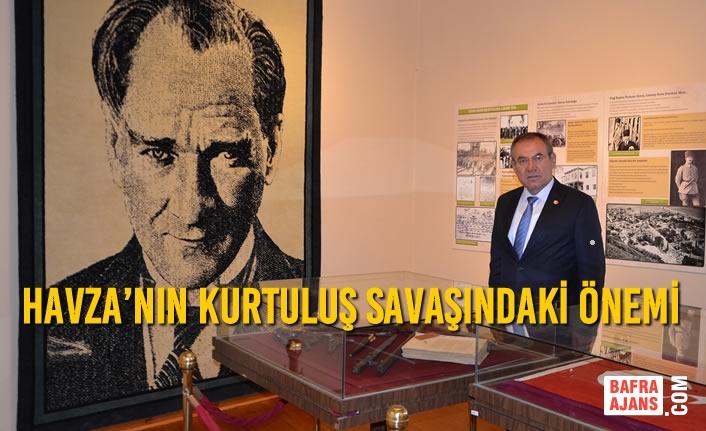 Zeybek'ten Atatürk'ün Havza'ya gelişinin 101. Yılı Mesajı