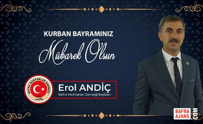 Başkan Andiç'ten Kurban Bayramı Mesajı