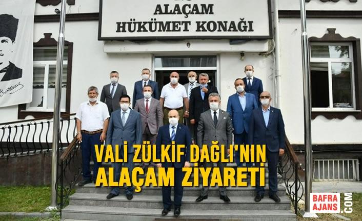Vali Zülkif Dağlı'nın Alaçam Ziyareti