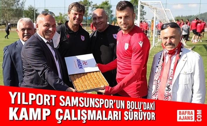 Yılport Samsunspor'un Bolu'daki Kamp Çalışmaları Sürüyor