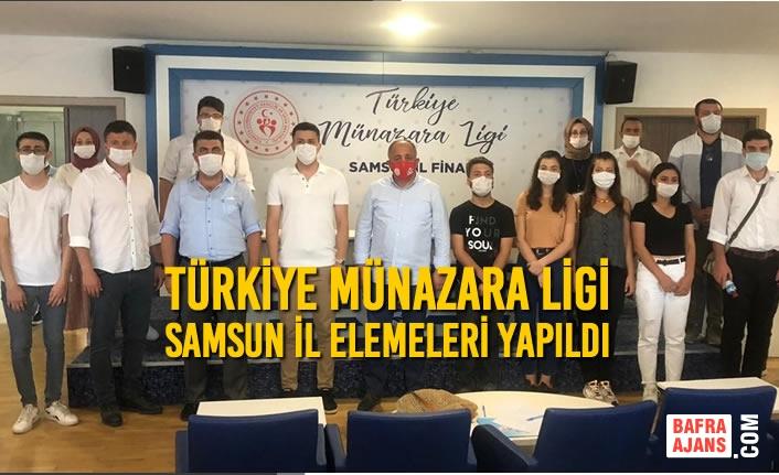 Türkiye Münazara Ligi Samsun İl Elemeleri Yapıldı