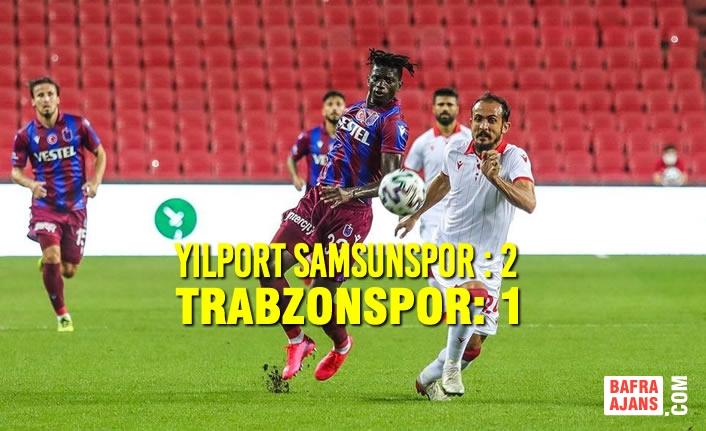 Yılport Samsunspor – Trabzonspor: 2 – 1