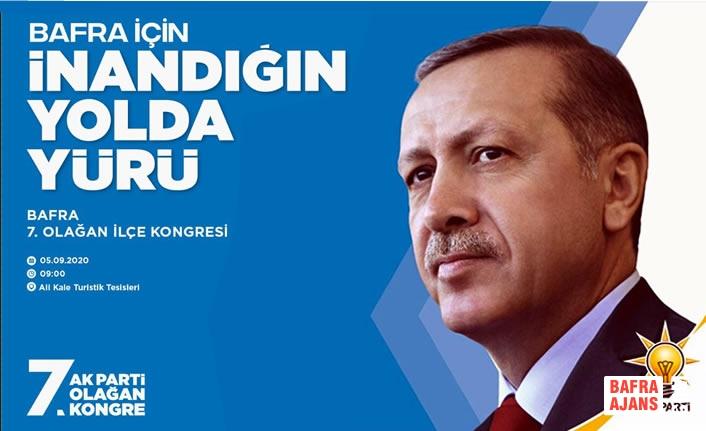 AK Parti Bafra İlçe Başkanı Av.İbrahim Semiz'den Kongreye Davet
