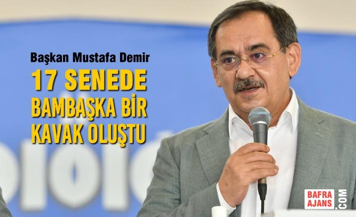Başkan Mustafa Demir, AK Parti Kavak Kongresinde Konuştu