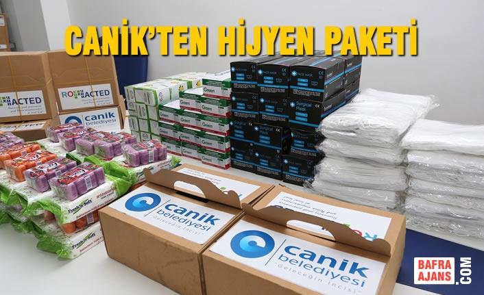 Canik'ten Hijyen Paketi