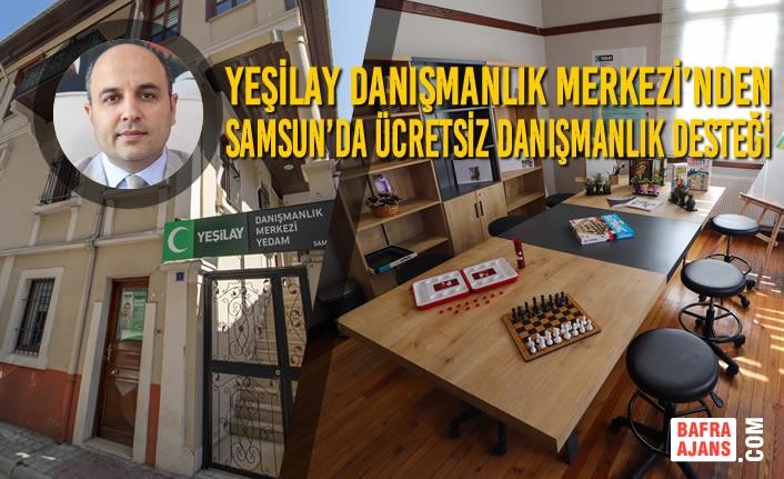 Yeşilay Danışmanlık Merkezi'nden Samsun'da Ücretsiz Danışmanlık Desteği