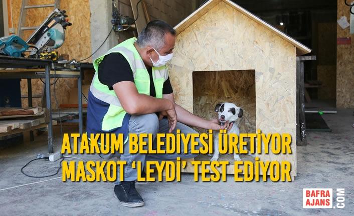 Atakum Belediyesi Üretiyor Maskot 'Leydi' Test Ediyor