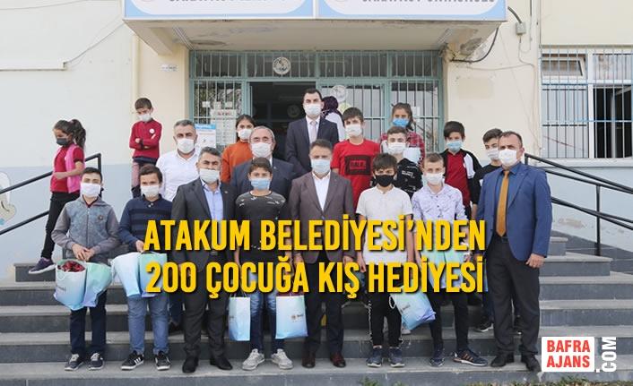 Atakum Belediyesi'nden 200 Çocuğa Kış Hediyesi