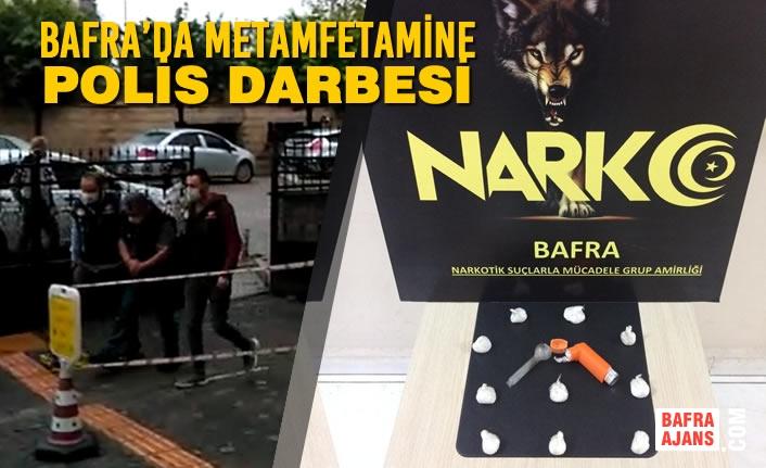 Bafra'da Metamfetamine Narkotik Polis Darbesi
