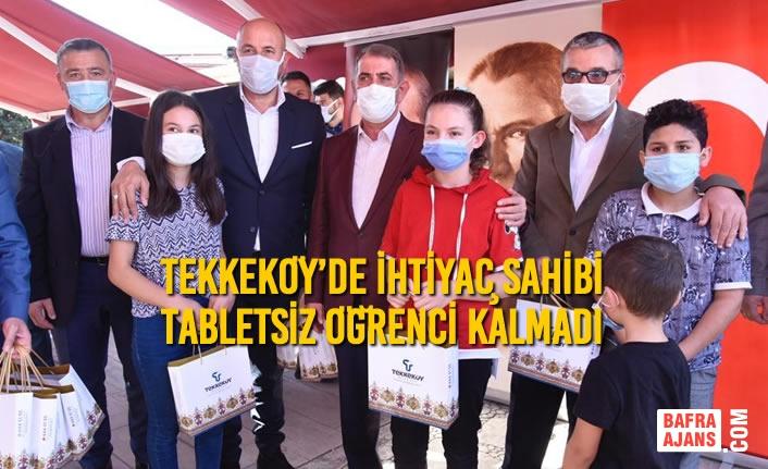 Başkan Togar Sözünü Tuttu ve Tekkeköy'de Tabletsiz Öğrenci Bırakmadı