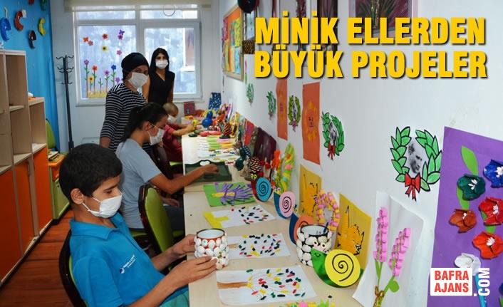 Minik Ellerden Büyük Projeler